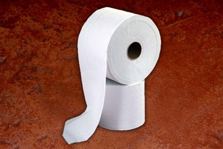 Bobina de Papel Blanco Para Limpieza Doble Hoja de 20 cm x 400 mts.(10)