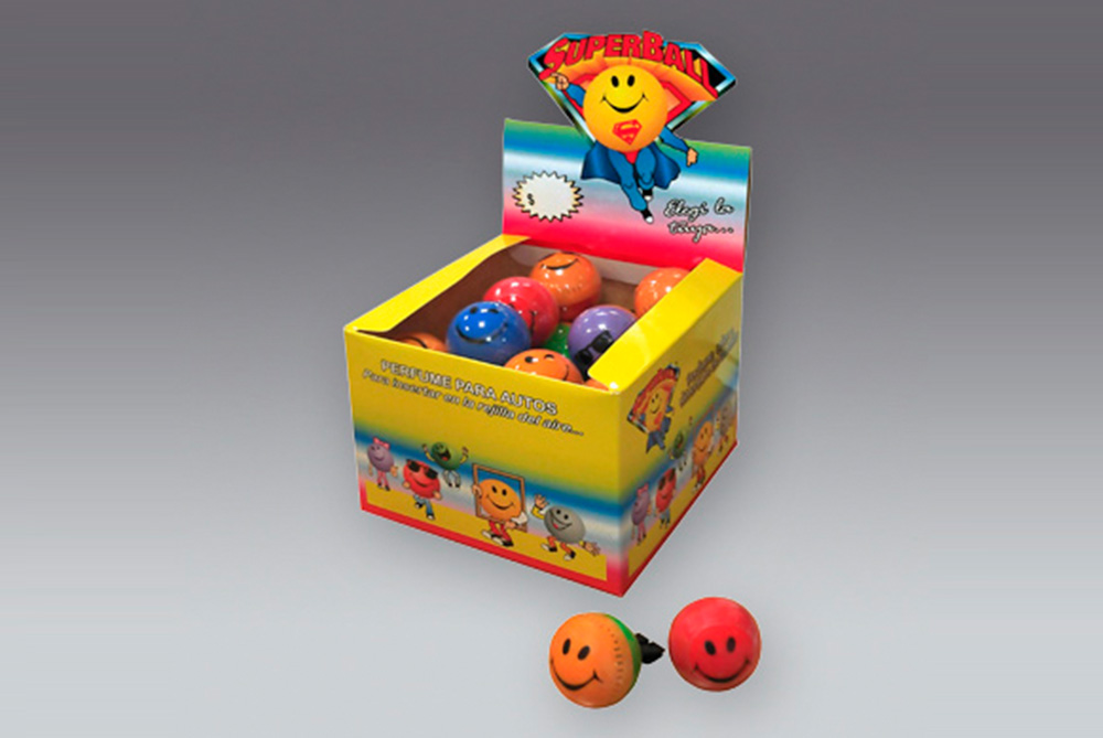 Super Ball Max Caja Exhibidora