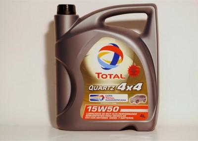 Total Quartz 4 x 4 15W50