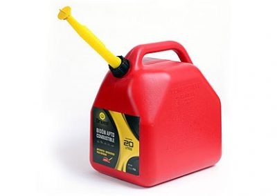 Bidón apto nafta – Color rojo